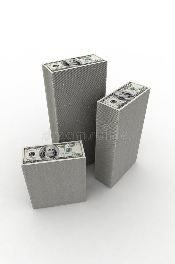 Download Big piles of money stock illustration. Image of save, savings - 3159990