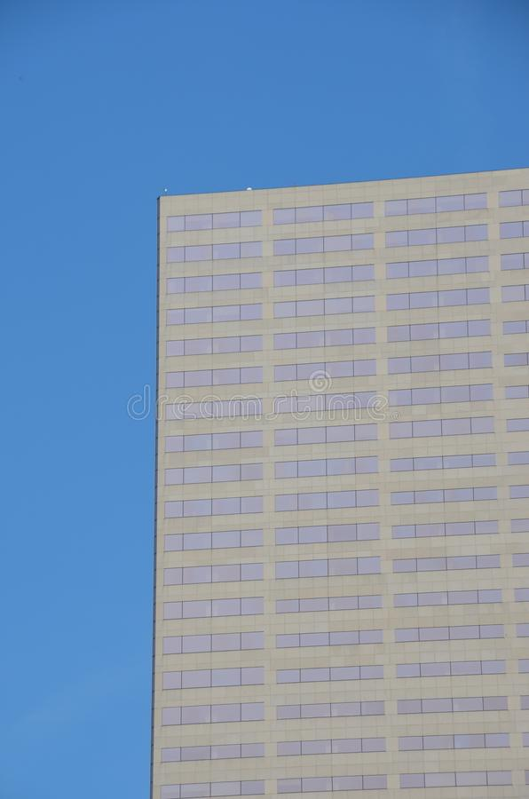 `Big Pink` Office Building in Portland, Oregon royalty free stock photo