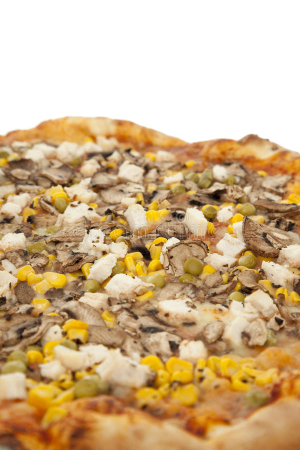 Big pizza royalty free stock photography