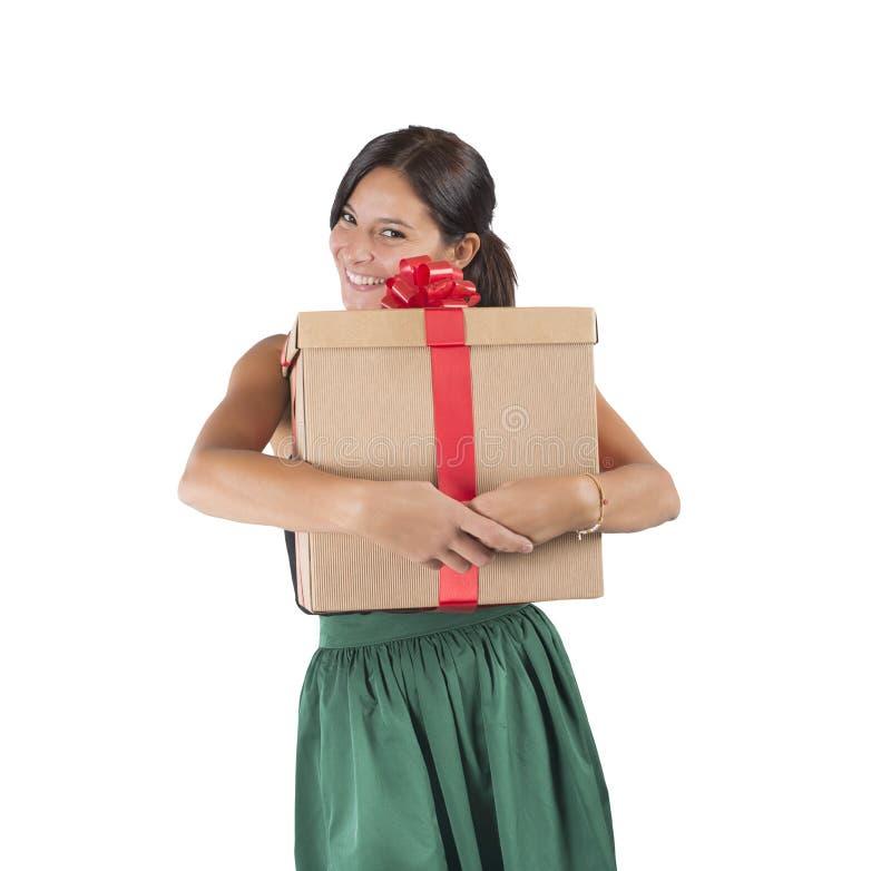 Big present stock photo
