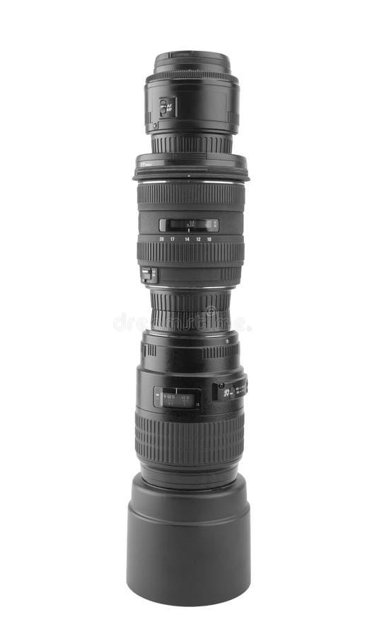 Download Big Professional Photographic Lens Stock Image - Image: 18697579