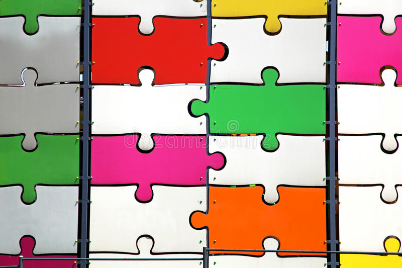 Download Big puzzle stock image. Image of colourful, part, jigsaw - 26211851