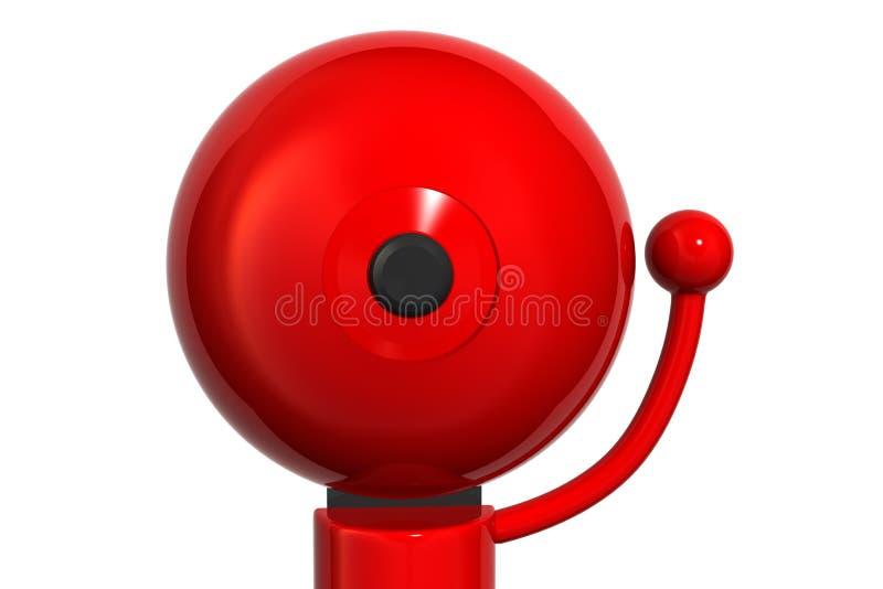 Big Red Bell stock illustration