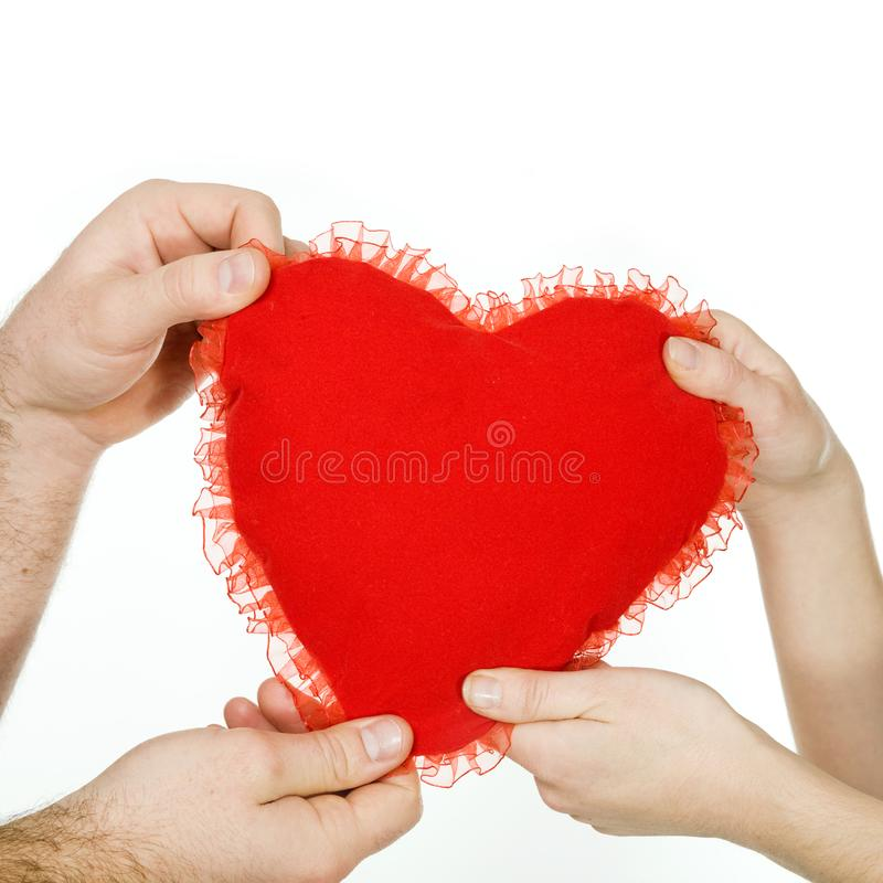 Download Big red heart stock image. Image of beautiful, female - 7906641