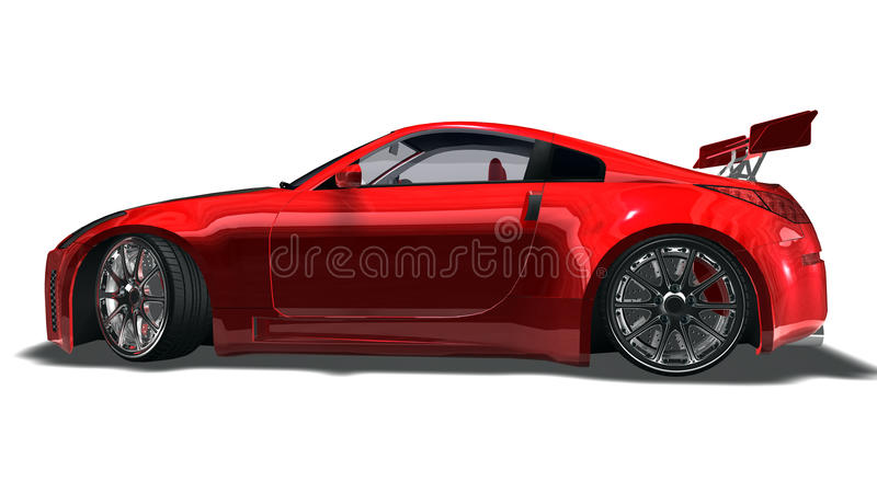 Download Big Red Sports Car Stock Photography - Image: 13522222