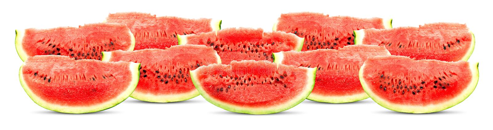 Download Big red watermelon stock image. Image of striped, snack - 14859347