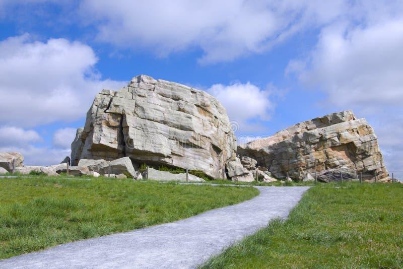 Big Rock. Near Okatoks, Alberta, Canada royalty free stock photos