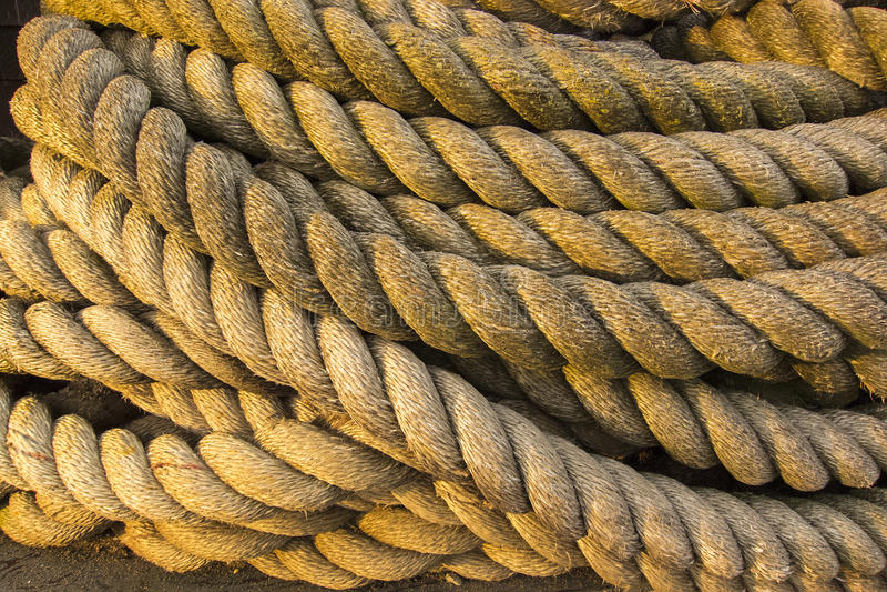 Big Rope Royalty Free Stock Photo