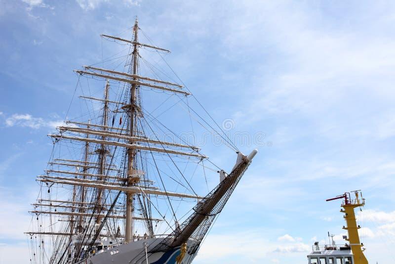 Download Big sailing ship stock photo. Image of clouds, marine - 26165010