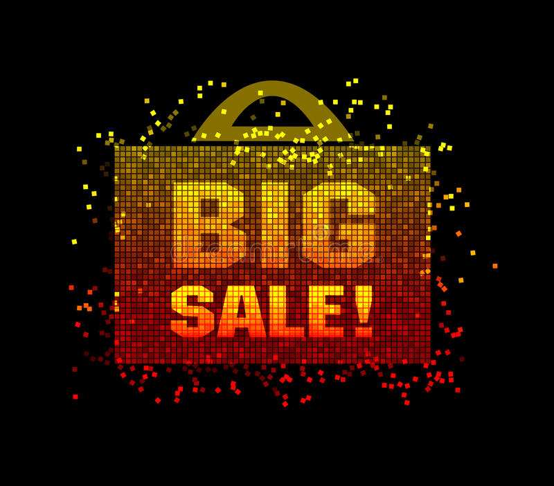 Download Big sale stock vector. Image of price, poster, power - 19362234