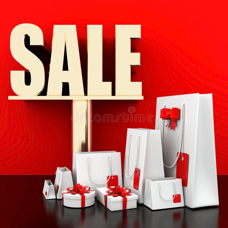 Big sale stock illustration