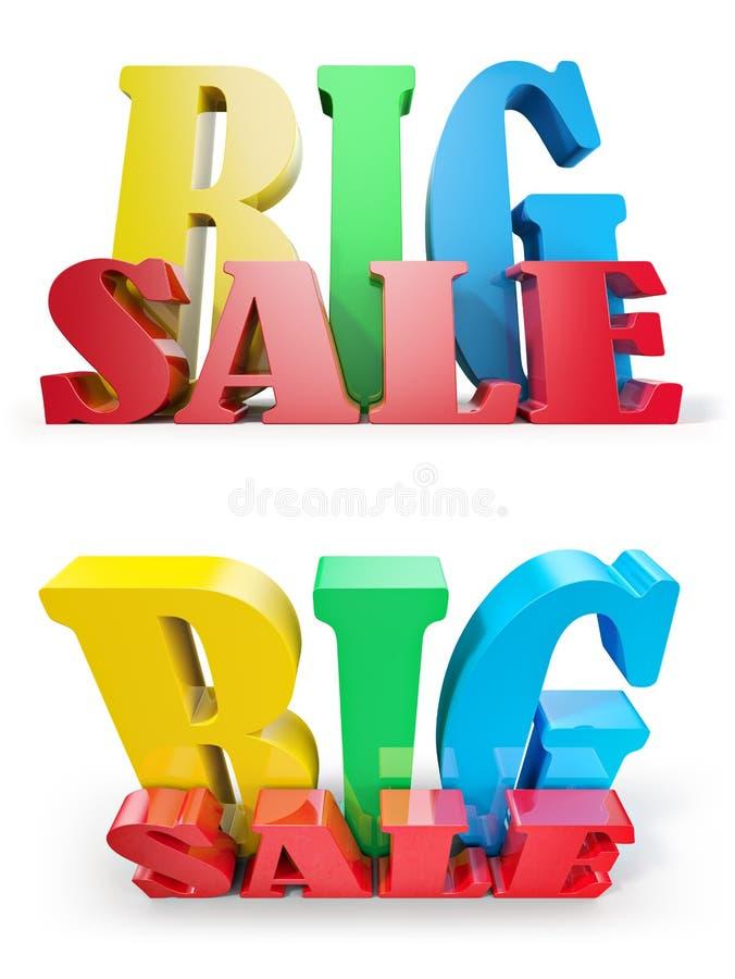 Download Big sale stock illustration. Illustration of seasonal - 24926686