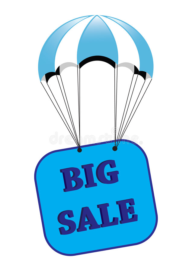 Download Big sale announcement stock illustration. Illustration of sale - 6460393
