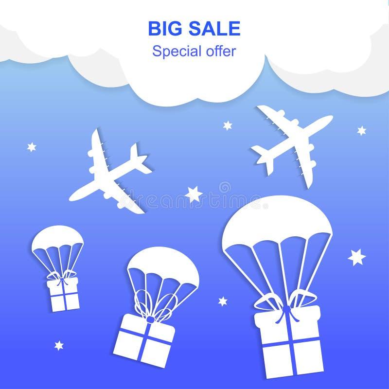 Big Sale banner royalty free illustration