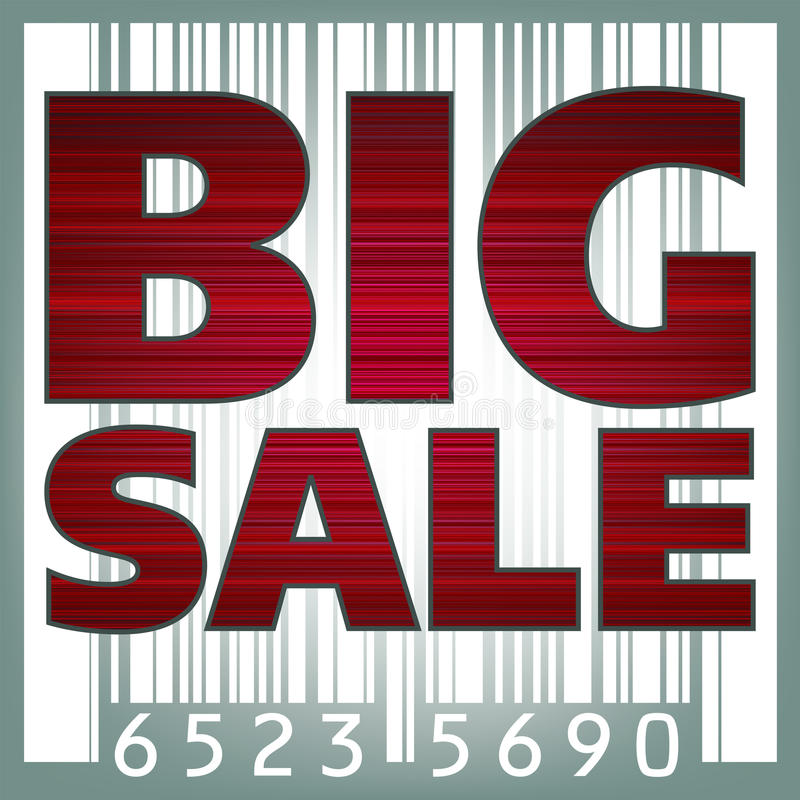 Download Big Sale Barcode Illustration. EPS 8 Stock Photography - Image: 17170072
