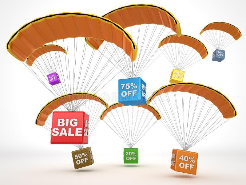 Big sale concept stock illustration