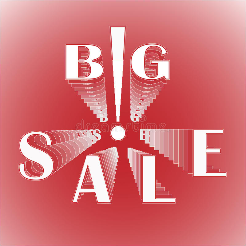 Download Big Sale With Exclamation Mark Stock Vector - Image: 33234654