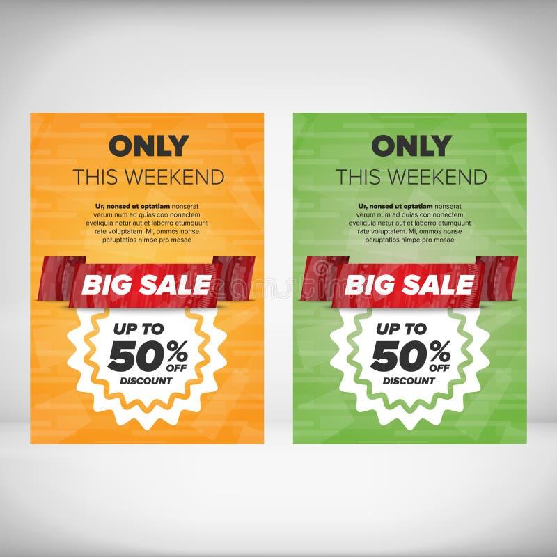 big sale flyer template stock vector illustration of fashion 64822249