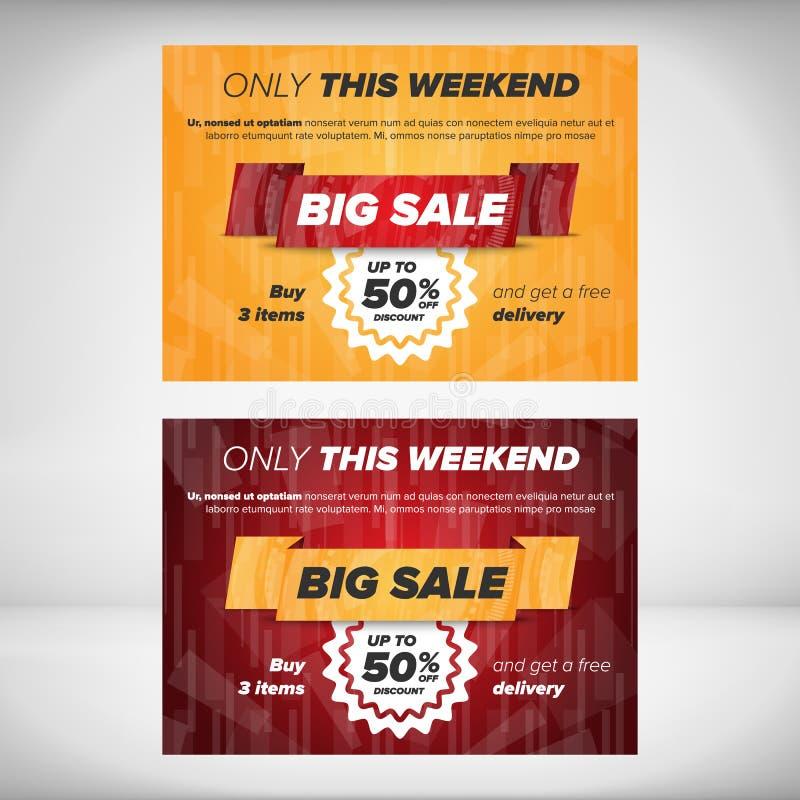 Big Sale Flyer Template Stock Vector Illustration Of Flyer 64856552