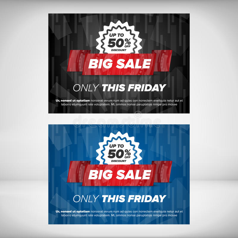 Big Sale Flyer Template Stock Vector Illustration Of Market 64856554