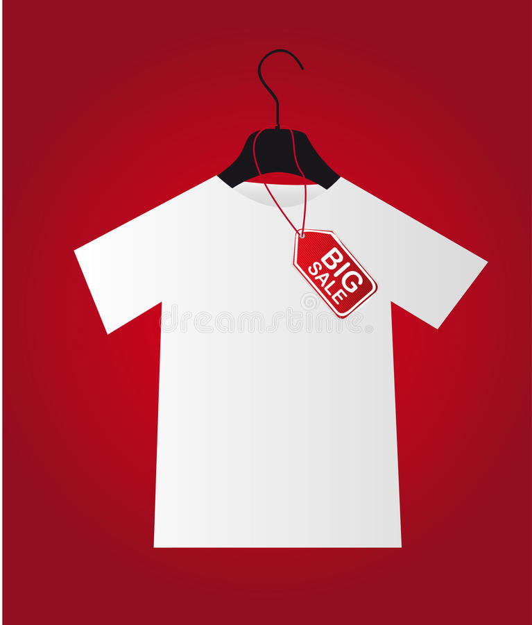 Download Big Sale Hanger Stock Image - Image: 23368461