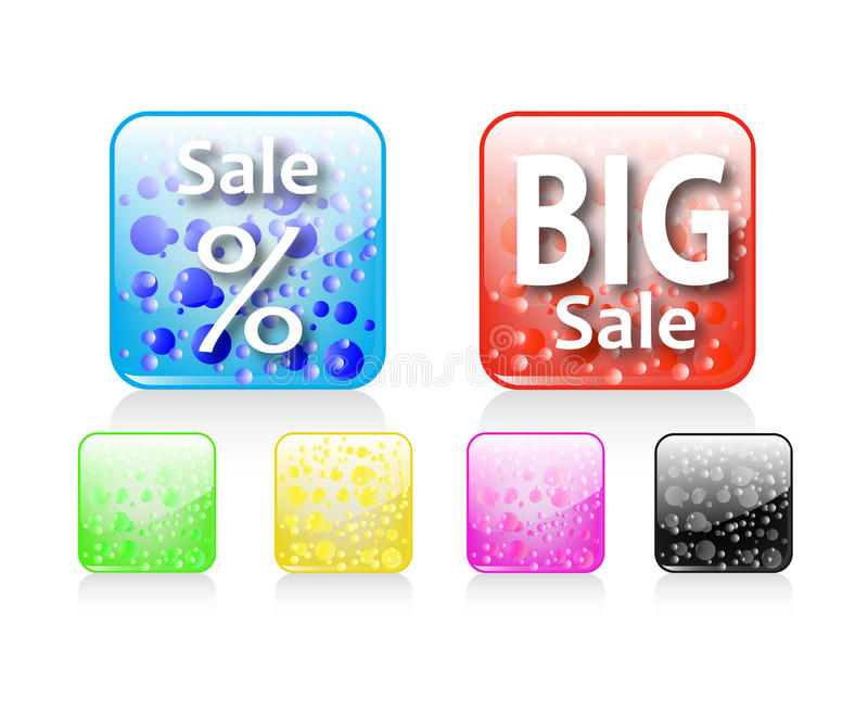 Download Big Sale Icon stock vector. Illustration of artwork, glossy - 27354856
