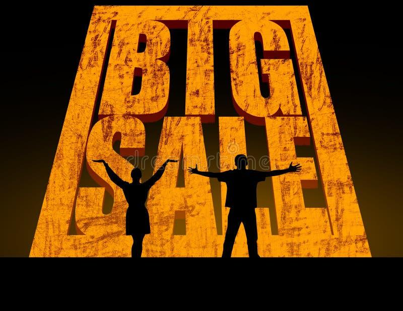 Download Big Sale stock illustration. Illustration of image, rock - 43683640