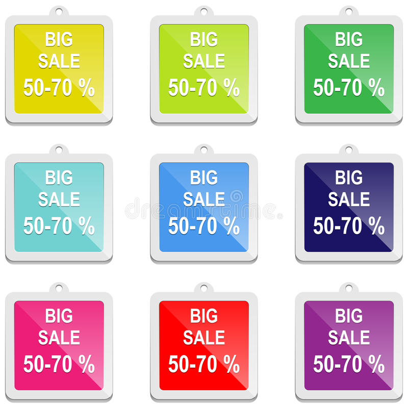 Download Big sale stock vector. Image of design, button, choice - 31915332