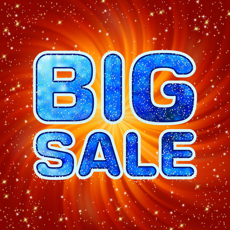 Free Big Sale Message. EPS 8 Stock Photography - 17442872