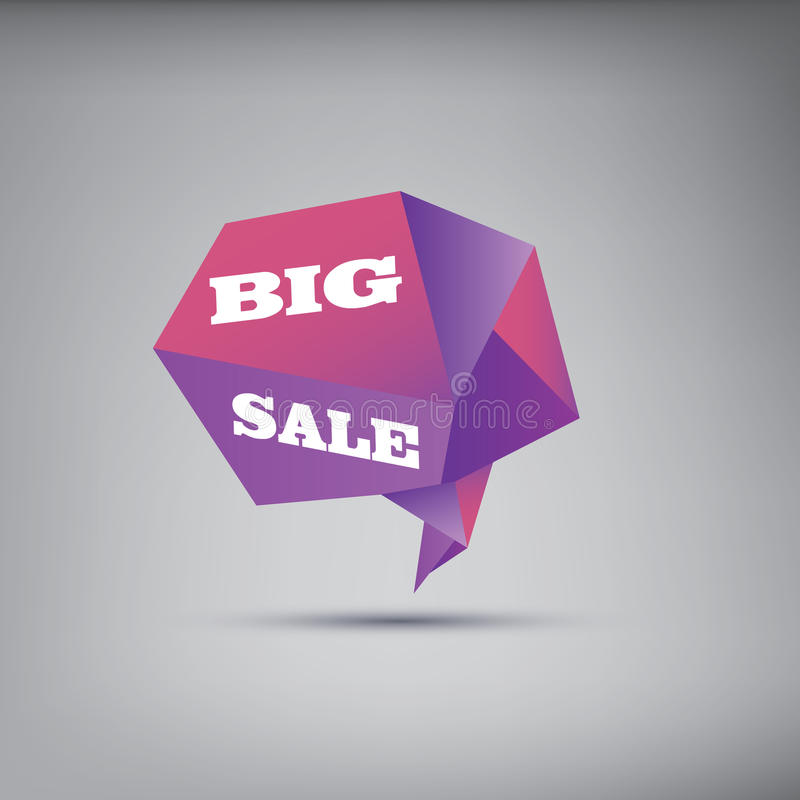 Big sale poster background with modern low stock illustration