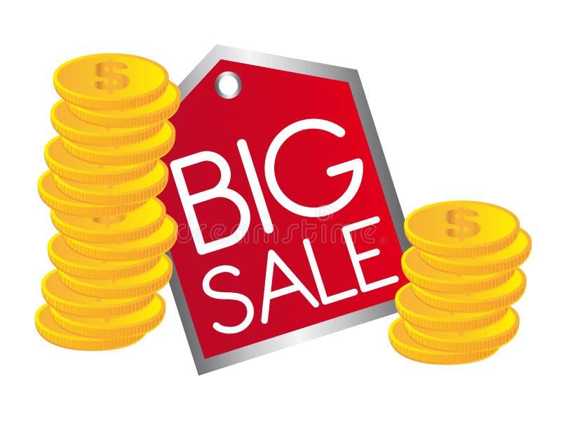 Download Big sale text stock vector. Illustration of depreciation - 22053652