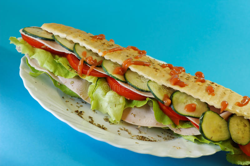 Download Big Sandwich Stock Photos - Image: 15101083