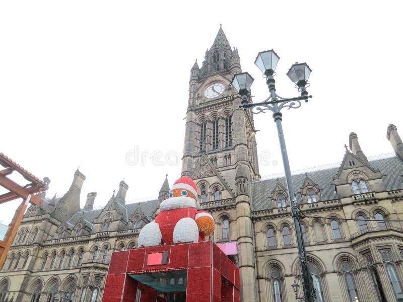 Big Santa Claus doll stock image