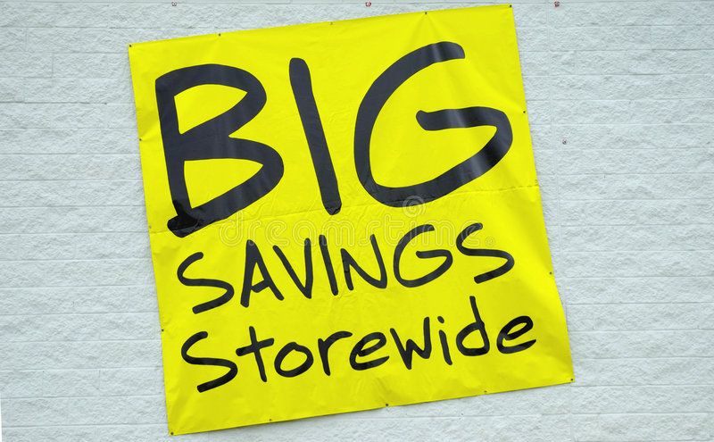 Download Big Savings Stock Photos - Image: 89223