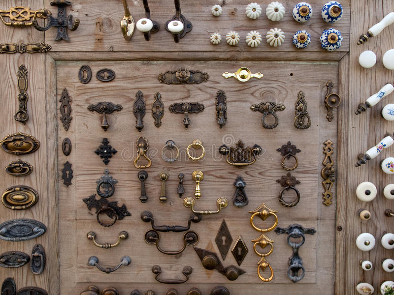 Download Big Selection Of Cabinets Knobs Stock Photo - Image: 10480460