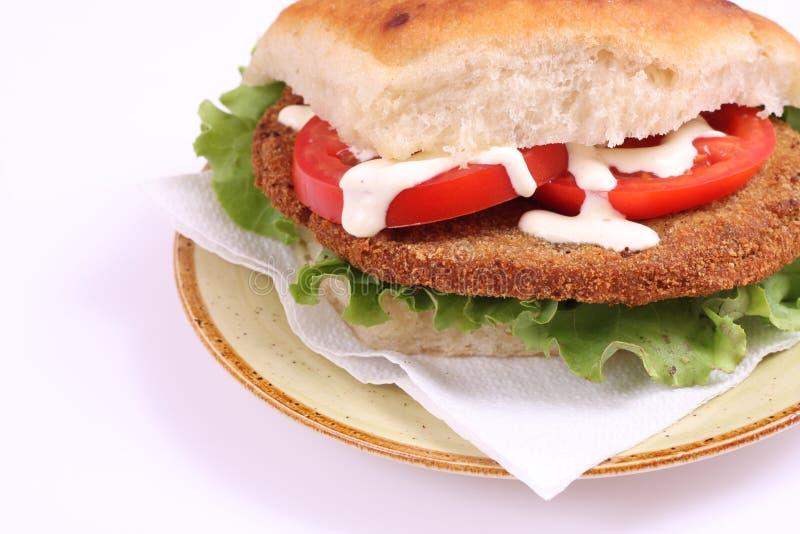 Big sendwich royalty free stock image