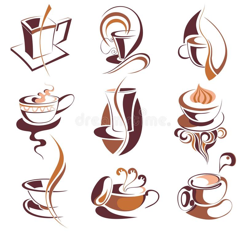 Download Big SET Of  Coffee,tea Elements Royalty Free Stock Images - Image: 13959469