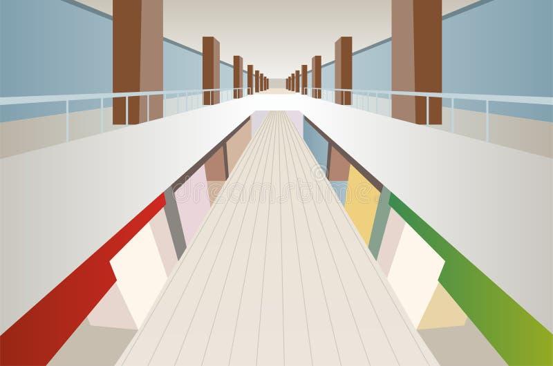 Download Big Shop Trade Center Gallery Interior Royalty Free Stock Photos - Image: 17789288