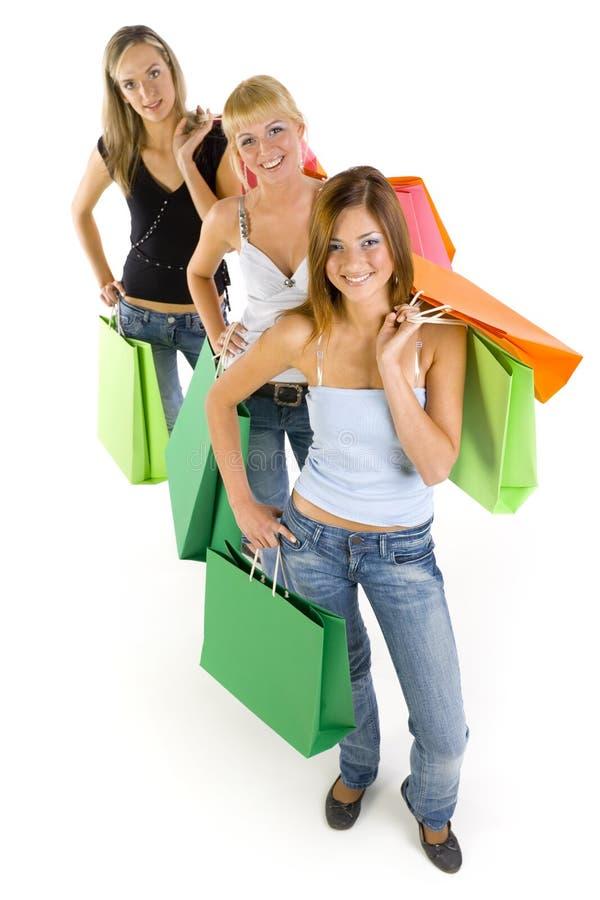 Big shopping royalty free stock image