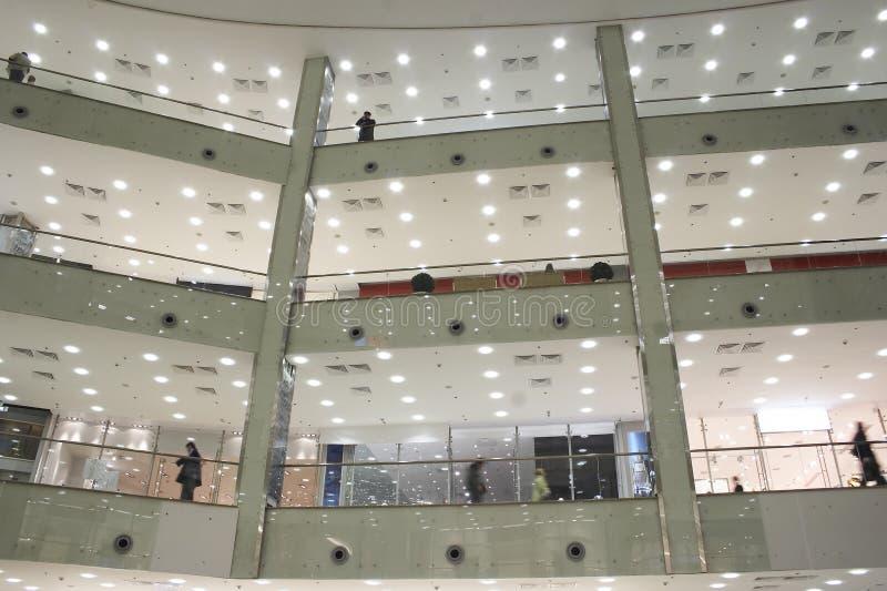 The big shopping center stock photos
