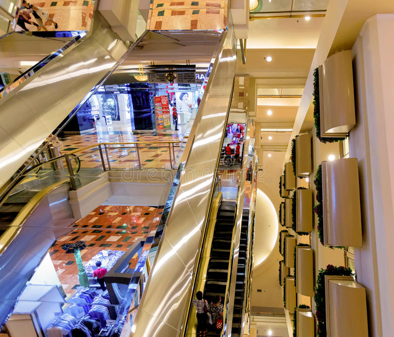 Big shopping centre in Jakarta royalty free stock photos
