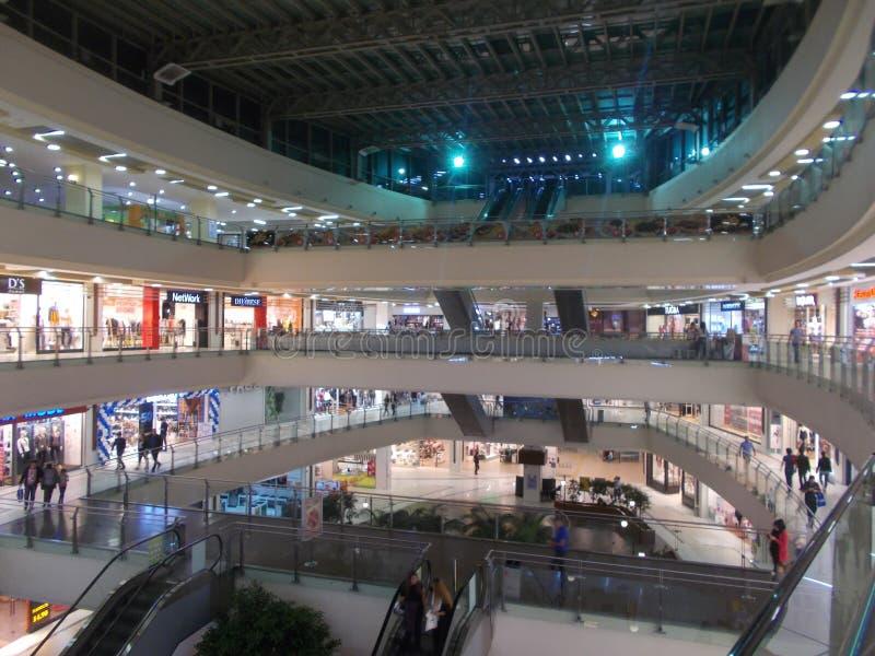A Big Shopping Mall, Teras Park in Denizli, Turkey stock images