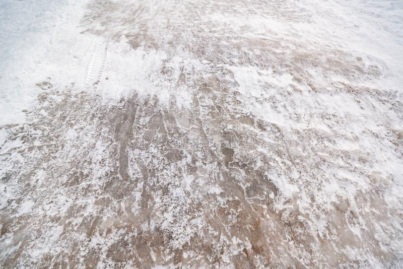 Big slippery road stock photos