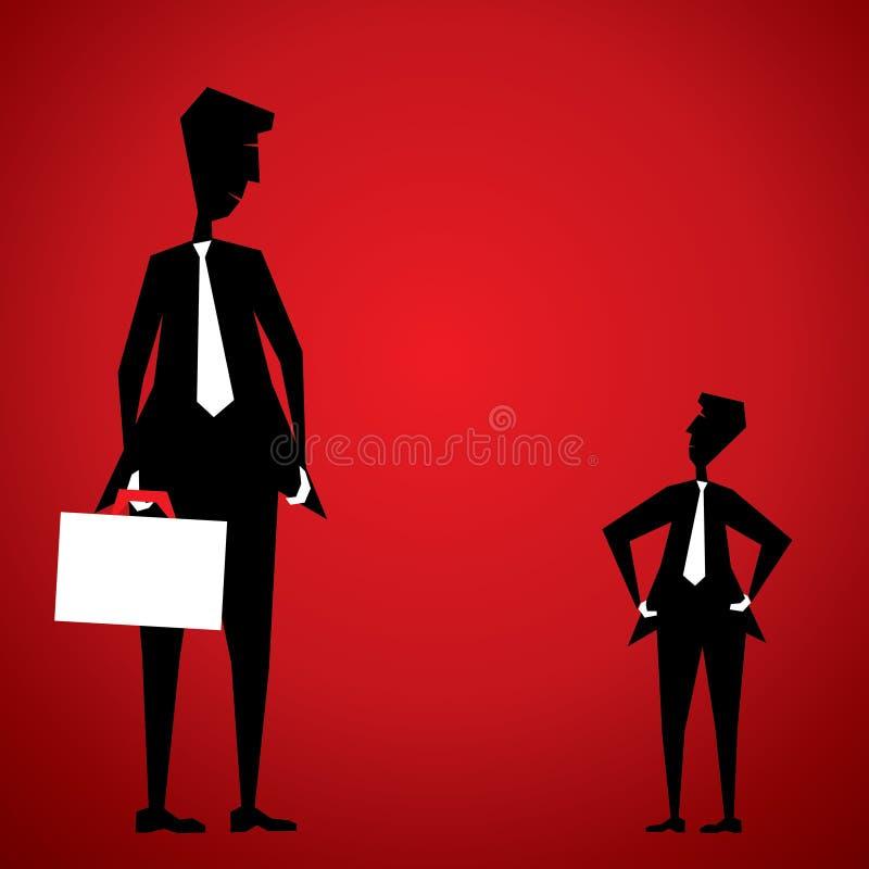 Download Businessmen communication stock vector. Image of black - 29725697