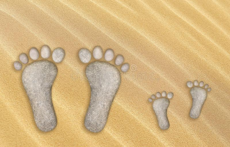 Big Small Footprints Stock Photos - Download 52 Royalty Free Photos