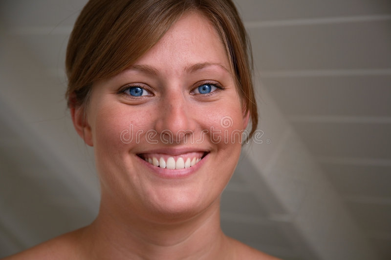 Download Big Smile stock photo. Image of girl, face, teeth, attraction - 1688076