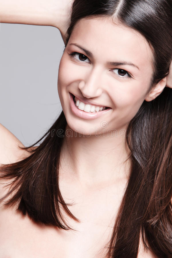 Big smile royalty free stock photography