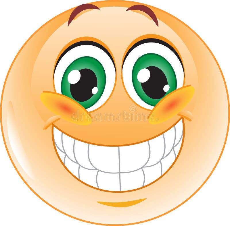 Free Big Smile Emoticon Stock Photography - 37160712