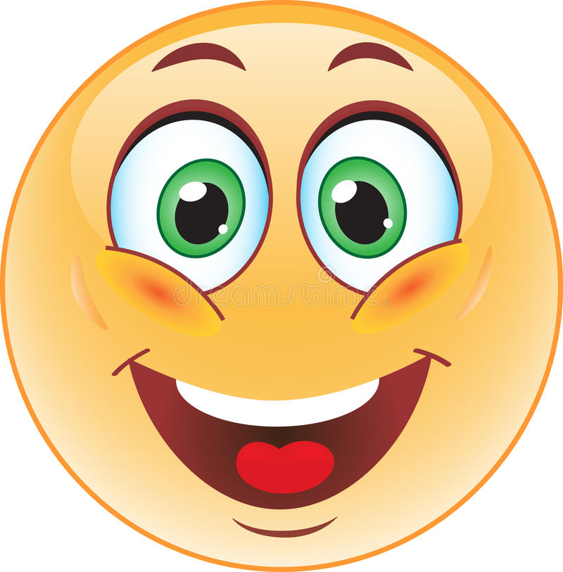 Free Big Smile Emoticon Stock Image - 39169731