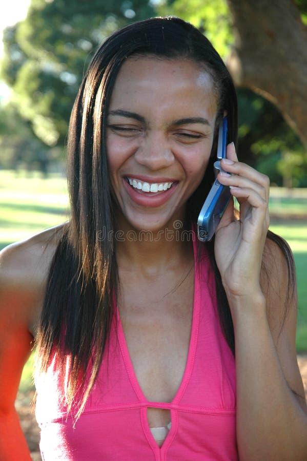 Free Big Smile Phone Call Stock Photos - 234163